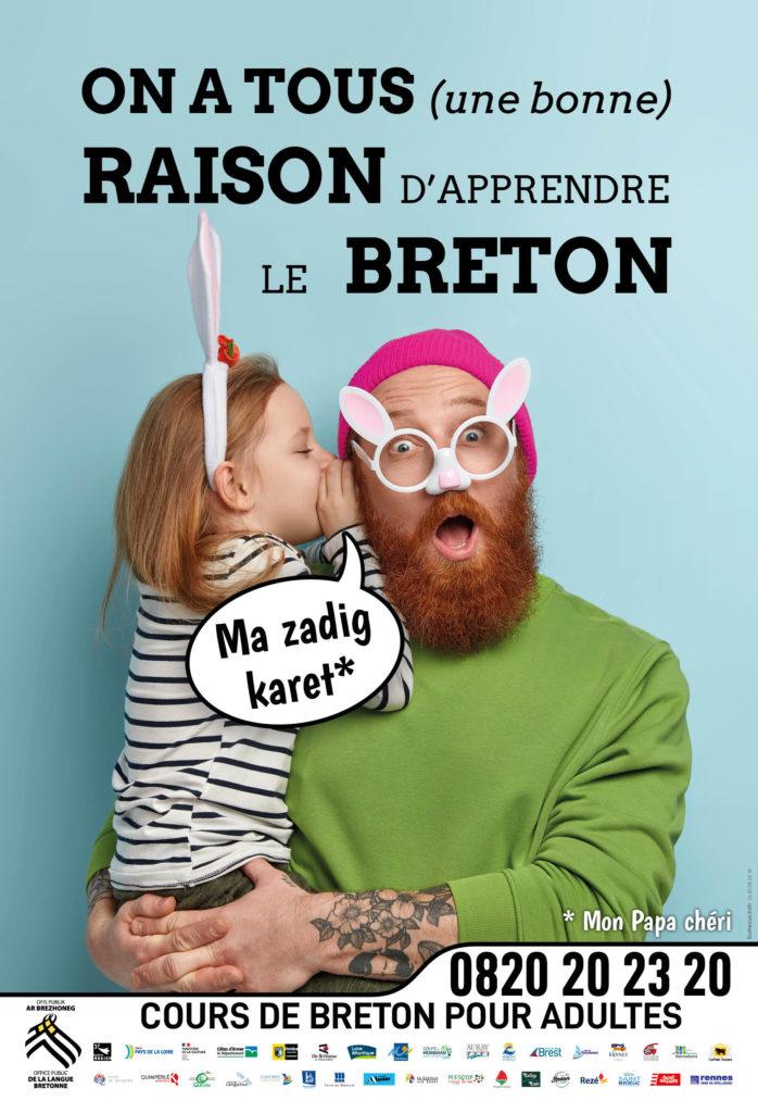 On a tous une raison d 'apprendre le breton