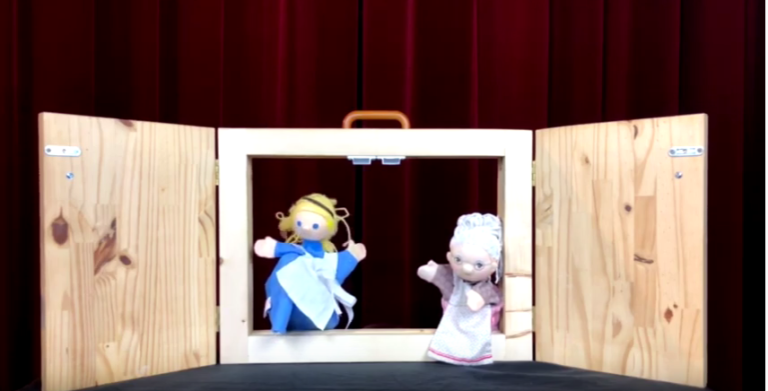 Marionette Margodenn breton brezhoneg Rozenn Fanch al laer